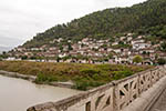 Albania;Albanian;Europe;architecture;art;art_history;Balkans;Berati;Shqiperia;UNESCO;World_Heritage_Site;Ottoman;Berat;Gorica;bridge;Osumi;River;houses;Gorica_