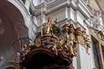 Austrian;Europa;Europe;architecture;art;art_history;Austria;Baroque;beliefs;Catholic;Christianity;Christian;church;creed;Duernstein;Dürnstein;faith;Lower_Austria;pulpit;religion;Stiftkirche;UNESCO;Wachau;World_Heritage_Site;Österreich