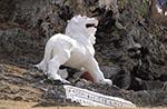 Barbados;Barbadian;Caribbean;West_Indies;Antilles;Lion;statue;Gun_Hill