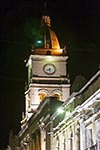 Bolivia;Bolivian;South_America;Latin_America;Estado_Plurinacional_de_Bolivia;architecture;art;art_history;Baroque;beliefs;Catholic;Christianity;Christian;creed;faith;religion;Cochabamba;Metropolitan;Cathedral;church;night