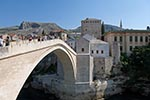 Bosnia_Herzegovina;Bosnian;Bosniak;Herzegovinian;Europe;Balkans;Europa;Architecture;Art;Art_history;Balkan_Peninsula;bridges;constructions;Islamic;Muslim;structures;UNESCO;World_Heritage_Site;Yugoslavia;Mostar;Herzegovina_Neretva;bridge;Old_Bridge;Stari_Most;Neretva;River