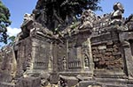 Cambodia;Cambodian;Kampuchea;Asia;Southeast_Asia;_Ancient;Anthropology;Archaeology;Architecture;Art;Art_history;Civilization;Culture;History;Indochina;Khmer;Khmer_Empire;Sculpture;UNESCO;World_Heritage_Site;Angkor;Siem_Reap;Library;Banteay_Kdei