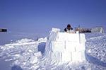 Canada;Canadian;North_America;Arctic;igloo;male;man;men;North_West_Territories;Northwest_Territories;people;Canadians;person;Tuktoyaktuk;Inuit