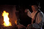 Canada;Canadian;North_America;Acadia;man;men;male;person;people;Canadians;Maritimes;people;Canadians;persons;Caraquet;New_Brunswick;Blacksmith;Leger_Blacksmith_Shop;Village_Historique_Acadien