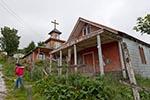 Chile;Chilean;South_America;Latin_America;Estrella_del_Mar;church;Puerto_Aguirre;Aisen;Region;Christianity;Christian;Catholic;religion;faith;beliefs;creed;Patagonia