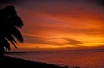 Cook_Islands;South_Pacific;Oceania;island;Polynesian;beaches;coasts;seashores;seaside;tropical;sunset;Rarotonga