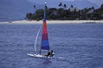 Fiji;Fijian;Melanesia;South_Pacific;Oceania;boats;vessels;transportation;islands;recreations;sports;tropical;Windsurfing;Beachcomber;Island;Western_Province;Windsurfing