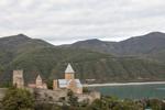 Ananuri_Castle;castles;_fortresses;_forts;Caucasus;Europe;Georgia;Georgian;Mtskheta_Mtianeti