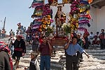 Guatemala;Guatemalan;beliefs;Catholic;Central_America;ceremonies;ceremony;Christianity;Christian;creed;faith;Latin_America;man;men;male;person;people;Guatemalans;Maya_Culture;Mayan;Maya;New_Granada;people;Guatemalans;persons;processions;Quiche;Quiche;religion;rites;rituals;sacraments;Spanish_Colonial;syncretism;Chichicastenango;El_Quiche;Easter_Sunday;Easter_comrades;council;men;andas;floats;saints;procession;Santo_Tomas;Church