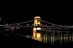 Hungary;Hungarian;Magyar;Europe;Europa;Eastern_Europe;bridge;Chain_Bridge;Szechenyi;Budapest;Danube_River;night;Széchenyi_lánchíd;UNESCO;World_Heritage_Site