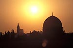 Israel;Israeli;Holy_Land;Architecture;Art;Art_history;Asia;Islamic;Middle_East;Muslim;Near_East;Palestine;Palestinians;UNESCO;World_Heritage_Site;Jerusalem;Dome_of_the_Rock;sunset
