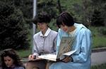Kazakhstan;Kazakstan;Central_Asia;Kazakh;Kazaki;Kazakhstani;Kazak;Asia;female;people;person;persons;people;woman;women;Almaty;Women;reading;books;Panfilov;Park