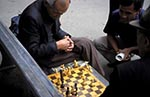 Kazakhstan;Kazakstan;Central_Asia;Kazakh;Kazaki;Kazakhstani;Kazak;Asia;aged;diversions;elderly;games;male;man;mature;men;older;pastimes;people;person;persons;people;recreations;seniors;Almaty;Elderly;men;playing;game;chess;Panfilov;Park