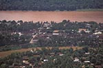 Laos;Asia;Southeast_Asia;tropical;Laotian;Lao;Indochina;Town_of_Luang_Prabang;UNESCO;World_Heritage_Site;Aerial;Luang_Prabang;Mekong;River
