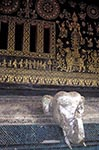 Laos;Asia;Architecture;Art;Art_history;Buddhism;Buddhist;Indochina;Lao;Laotian;Painting;Southeast_Asia;Town_of_Luang_Prabang;tropical;UNESCO;World_Heritage_Site;Luang_Prabang;Elephant;sum;wall;Wat_Xieng_Thong