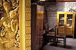 Laos;Asia;Architecture;Art;Art_history;Buddhism;Buddhist;Indochina;Lao;Laotian;Southeast_Asia;Town_of_Luang_Prabang;tropical;UNESCO;World_Heritage_Site;Luang_Prabang;Entrance;Funerary;Carriage;House;Wat_Xieng_Thong