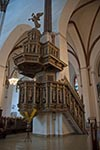 Latvia;Latvian;Riga;Latvijas;Europe;Europa;Architecture;Art;Art_history;Baltic;beliefs;Christianity;Christian;creed;faith;Gothic;Lutheran;Medieval;religion;UNESCO;World_Heritage_Site;Florid_pulpit;Cathedral
