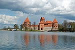 Lithuania;Lithuanian;Europe;Europa;Lietuvos;_Architecture;Art;Art_history;Baltic;castles;fortresses;forts;Gothic;Medieval;Trakai;Island_Castle