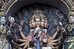 Malaysia;Malaysian;Asia;Southeast_Asia;Hinduism;Hindu;religion;faith;beliefs;creed;Batu_Caves;Kuala_Lumpur;Statues;Hindu;deity;Cathedral_Cave
