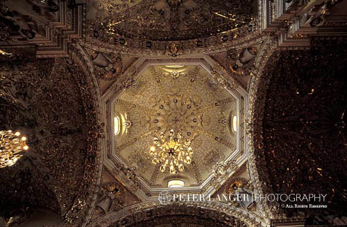 Mexico;Mexican;Latin America;North America;Central America;Architecture;Art;Art history;Baroque;beliefs;Catholic;Christianity;Colonial;creed;faith;religion;Spanish Colonial;Church;San Francisco Church;Acatepec;Puebla