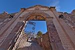 Mexico;Mexican;Latin_America;North_America;Central_America;Entrance;gate;Guadalupe;chapel;Cemetery;Real_de_Catorce;San_Luis_Potosi