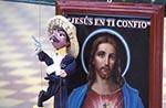 Mexico;Mexican;Latin_America;North_America;Central_America;Sierra_Madre;Mariachi;puppet;Jesus;image;Concordia;Sinaloa