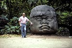 Mexico;Mexican;Latin_America;North_America;Central_America;Ancient;Anthropology;Archaeology;Art;Art_history;Civilization;Culture;History;man;men;male;person;people;Mexicans;Mesoamerica;Olmec;people;Mexicans;persons;Pre_Columbian;Precolombian;pre_Hispanic;Sculpture;Colossal;Olmec;head;La_Venta;Villahermosa;Tabasco