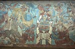 Mexico;Mexican;Latin_America;North_America;Central_America;Ancient;Archaeology;Art;Art_history;Civilization;Culture;History;Mesoamerica;Painting;Pre_Columbian;Precolombian;pre_Hispanic;Battle;scene;mural_Eastern;Wall;Cacaxtla;Tlaxcala