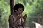 Burma;Myanmar;Burmese;Myanmarese;Asia;Southeast_Asia_;childhood;children;girl;girls;child;children;youngsters;kids;childhood;person;people;girls;kids;people;persons;youngsters;Kyaiktiyo;Girl;decorative;thanakha;make_up