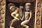Nepal;Nepali;Nepalese;Asia;Architecture;Art;Art_history;Himalayas;Kathmandu_Valley;Sculpture;South_Asia;UNESCO;World_Heritage_Site;Bhaktapur;Kathmandu_Valley;Madhyamanchal;Central_Region;Erotic;carving;Pashupatinath_Temple