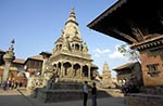 Nepal;Nepali;Nepalese;Asia;Architecture;Art;Art_history;Himalayas;Kathmandu_Valley;persons;people;South_Asia;UNESCO;World_Heritage_Site;Bhaktapur;Kathmandu_Valley;Madhyamanchal;Central_Region;Vatsala_Durga_Temple