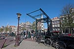 Amsterdam;Benelux;bridge;bridges;Dutch;Europa;Europe;Holland;Iron_bridge;Kloveniersburgwal;Netherlands;Seventeenth_century_canal_ring_area_of_Amsterdam_inside_the_Singelgracht;UNESCO;World_Heritage_Site