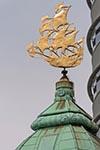 Netherlands;Holland;Dutch;Europe;Europa;Benelux;art;art_history;Art_Noveau;Hotel_New_York;Jugendstil;Rotterdam;Sailing_ship_shaped;weathervane;architecture
