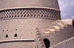 Oman;Omani;Arabia;_Arabian_Peninsula;Architecture;Art;Art_history;Islamic;Middle_East;Muslim;Near_East;Buraimi;Adh_Dhahirah;Mud_brick;tower;Al_Khandaq_Fort