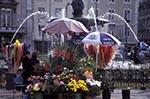 Portugal;Portuguese;Europe;Europa;art_history;Baroque;Flower;fountain;kiosk;Lisbon;Lisboa;people;persons;Rossio;sculpture;Square;art