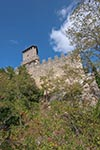 San_Marino;Sammarinese;Europe;Europa;Italian;architecture;art;art_history;castles;fortresses;forts;Medieval;Middle_Ages;UNESCO;World_Heritage_Site;La_Rocca;First_Tower;Monte_Titano;Mount_Titano