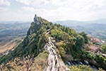 San_Marino;Sammarinese;Europe;Europa;Italian;architecture;art;art_history;castles;fortresses;forts;Medieval;Middle_Ages;UNESCO;World_Heritage_Site;La_Cesta;Second_Tower;Monte_Titano;Mount_Titano