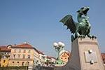 Slovenia;Slovene;Slovenian;Europe;Eastern_Europe;Europa;Art_history;Art_Noveau;Jugendstil;Modern_architecture;Modern_art;Sculpture;Yugoslavia;Art;Ljubljana;Dragon_Bridge