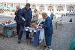 Slovenia;Slovene;Slovenian;Europe;Eastern_Europe;Europa;female;male;man;men;people;person;persons;woman;women;Yugoslavia;Ljubljana;Mushroom;vendor;Market