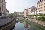 Slovenia;Slovene;Slovenian;Europe;Eastern_Europe;Europa;Yugoslavia;Ljubljana;Buildings;bridge;Ljubljanica_River