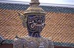 Thailand;Thai;Siam;Siamese;Southeast_Asia;Asia;Architecture;Art;Art_history;Buddhism;Buddhist;religion;faith;beliefs;creed;Sculpture;Bangkok;Guard;statue;Wat_Phra_Kaeo