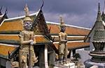 Thailand;Thai;Siam;Siamese;Southeast_Asia;Asia;Architecture;Art;Art_history;Buddhism;Buddhist;religion;faith;beliefs;creed;Bangkok;Guard;statues;Wat_Phra_Kaeo