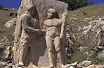 Turkey;Turkish;Asia;Europe;Ancient;Archaeology;Art;Art_history;Hellenism;Sculpture;UNESCO;World_Heritage_Site;Arsamea;Adiyaman;Bas_relief;Dexiosis;Mithridates_I;Heracles