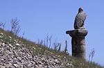 Turkey;Turkish;Asia;Europe;Ancient;Archaeology;Art;Art_history;Hellenism;Sculpture;UNESCO;World_Heritage_Site;Karakus_Tumulus;Adiyaman;Eagle;statue;Doric;column