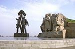 Ukraine;Ukrainian;Europe;Eastern_Europe;Europa;Art_history;Friendship_Arch;Kiev;Sculpture;Stalinist_art;Art