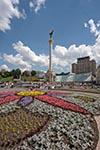Ukraine;Ukrainian;Europe;Eastern_Europe;Europa;architecture;art;art_history;Berehynia;Column;Independence_Square;Kiev;Kyiv;Maidan_Nezalezhnosti;monument;Socialist;Soviet_Union;Stalinist;Ukrainians