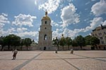 Ukraine;Ukrainian;Europe;Eastern_Europe;Europa;Art;Art_history;Baroque;beliefs;Bell_tower;Christianity;Christian;creed;Eastern_Orthodox;faith;Kiev;religion;Saint_Sophia_Cathedral;UNESCO;World_Heritage_Site;Architecture