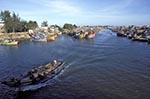 Vietnam;Vietnamese;Asia;Indochina;Southeast_Asia;boats;fisherman;fishermen;fishing_industry;persons;people;transportation;vessels;Phan_Thiet;Binh_Thuan;Fishing;boats;Phan_Thiet;River