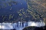 Zimbabwe;Zimbabwean;Africa;aerial;cascades;Matabeleland_North;Mosi_oa_Tunya;rivers;streams;UNESCO;Victoria_Falls;water;waterfalls;World_Heritage_Site;Zambia